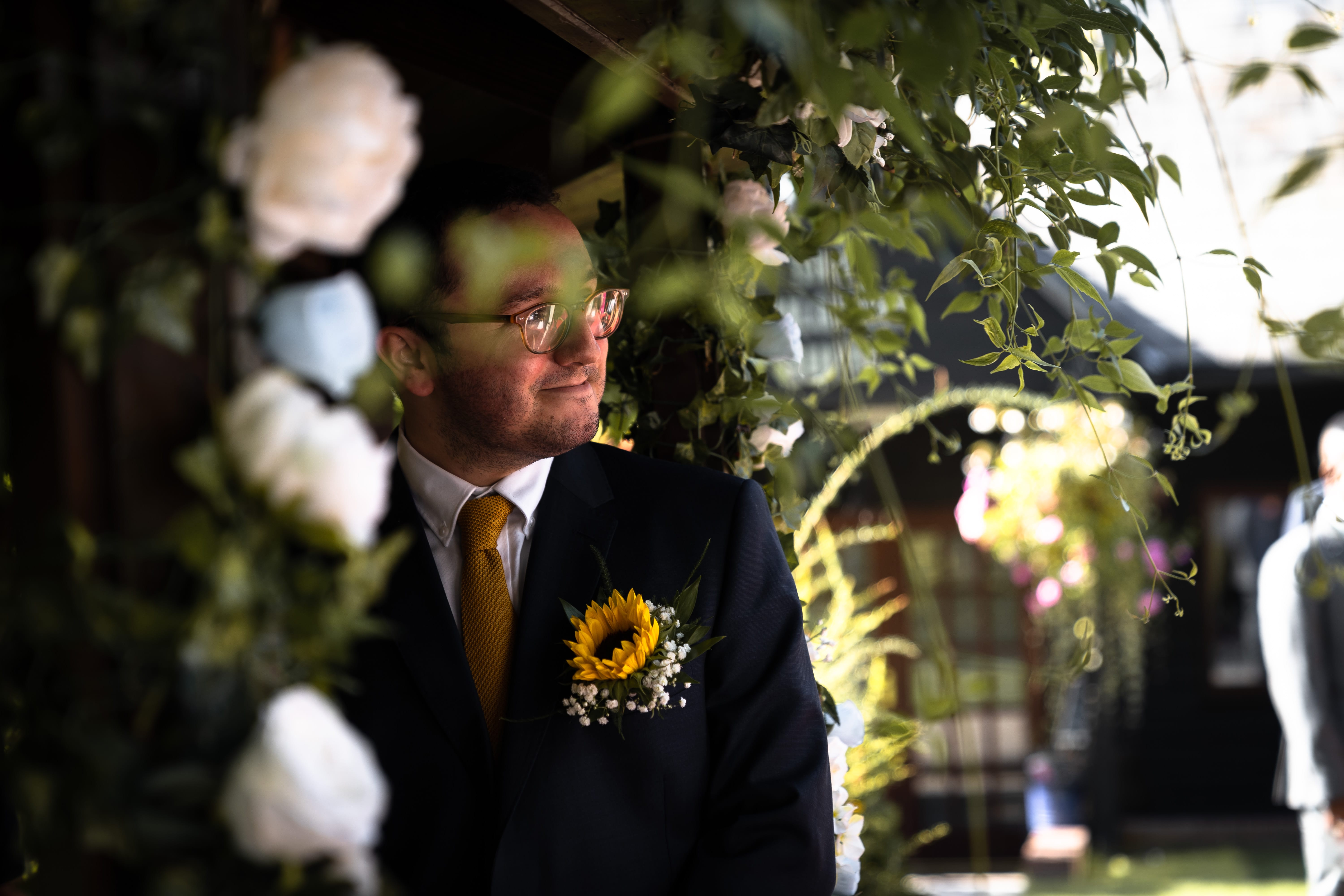 Documentary Wedding Photography - Nervous Groom
